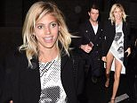 Coach Fashion Party In Paris outside arrivals, Chloe Moretz, Suki Waterhouse, Devon Windsor seen wearing no underwear, Charli XCX, Toni Garrn  Pictured: Devon Windsor Ref: SPL1233905  010316   Picture by: Neil Warner / Splash News  Splash News and Pictures Los Angeles: 310-821-2666 New York: 212-619-2666 London: 870-934-2666 photodesk@splashnews.com