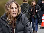 """01.March.2015 - New York City - USA\n**EXCLUSIVE ALL ROUND PICTURES**\n*** STRICTLY AVAILABLE FOR UK AND GERMANY USE ONLY ***\nSarah Jessica Parker filming """"Divorce"""" a new TV series.  In this scene Sarah is picking up furniture at an estate sale.  Sarah's hands were looking a little rough being cold and dry.\nBYLINE MUST READ : AKM-GSI-XPOSURE\n***UK CLIENTS - PICTURES CONTAINING CHILDREN PLEASE PIXELATE FACE PRIOR TO PUBLICATION ***\n*UK CLIENTS MUST CALL PRIOR TO TV OR ONLINE USAGE PLEASE TELEPHONE 0208 344 2007*\n"""