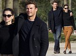 """Shooting of the movie """"Overdrive"""" with actor Scott Eastwood and actress Ana de Armas in Paris, France on February 29th 2016\n\nPictured: Scott Eastwood and Ana de Armas\nRef: SPL1238978  290216  \nPicture by: KCS Presse / Splash News\n\nSplash News and Pictures\nLos Angeles: 310-821-2666\nNew York: 212-619-2666\nLondon: 870-934-2666\nphotodesk@splashnews.com\n"""