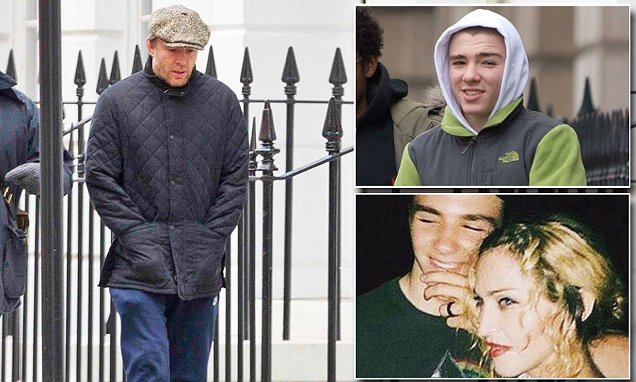 Madonna accuses Guy Ritchie of teaching their son to 'thumb his nose' at the law