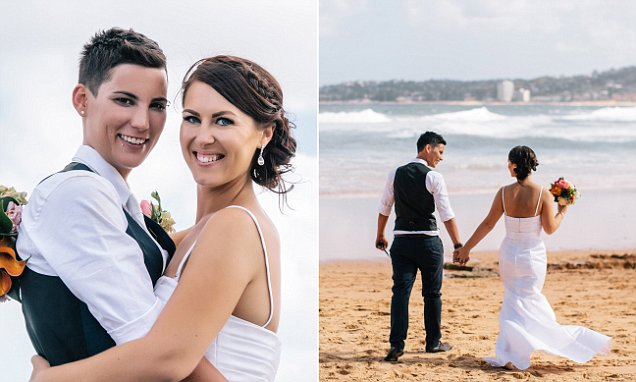 Lesbian couple have commitment ceremony in Sydney