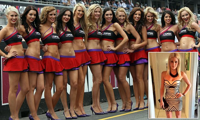 V8 grid girls are sad and disappointed their roles are being axed