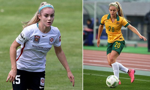 Ellie Carpenter is first player born in the 2000s to play for Australia's Matildas