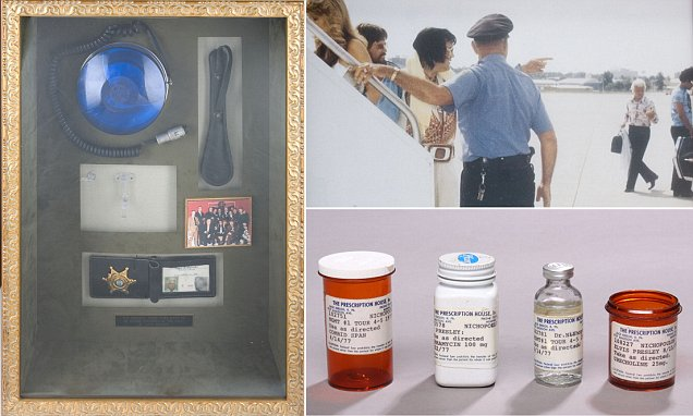 Things owned by Elvis Presley's physician Dr. George Nichopoulos go up for sale