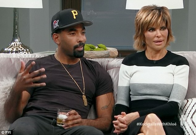 The guests: Marlon Yates Jr. and Lisa Rinna were among the guests on Kocktails With Khloe