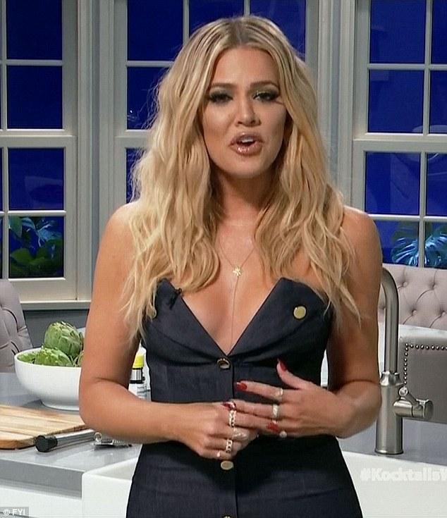Season one: Khloe is in her first season of hosting Kocktails With Khloe
