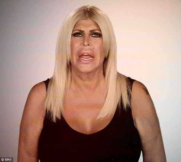 Attitude adjustment: Big Ang vowed that she was going to be nicer