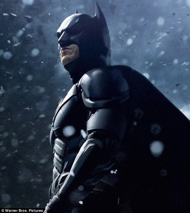 Bale-ing out: Fans were disappointed Christian decided to hang up his cape and cowl after Dark Knight Rises