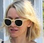 Naomi Watts goes fresh-faced and casual as she meets a friend for lunch in Brentwood, CA after attending last night's Academy Awards. Watts wears white sunglasses and looks amazing in an off white crop top and blue jeans. Monday, February 29, 2016. AZ/X17online.com
