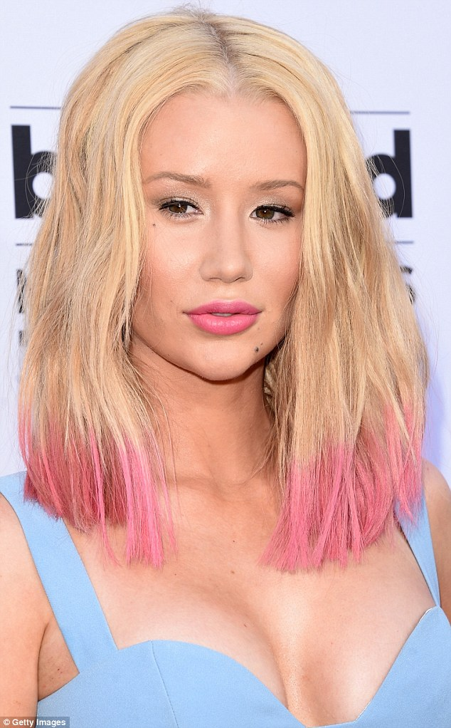 New look: Last year Iggy prompted speculation that she had undergone more plastic surgery procedures after arriving at the Billboard Awards in Las Vegas