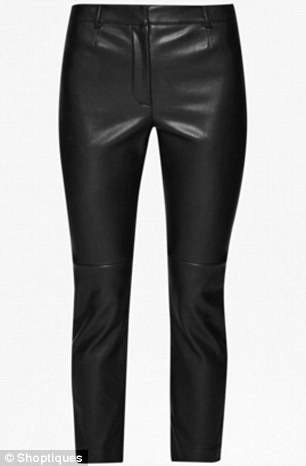 Leathers: French Connection pants, $124, shoptiques.com