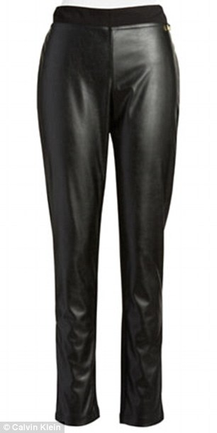 Tough stuff: Calvin Klein leggings, $59.50, lordandtaylor.com