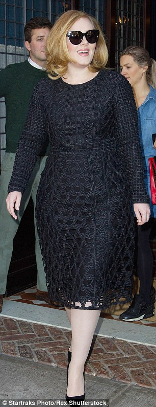 Adele has a long relationship with the designer label. She's often seen out and about in New York in their garments and donned one of their dresses for her Vogue US cover
