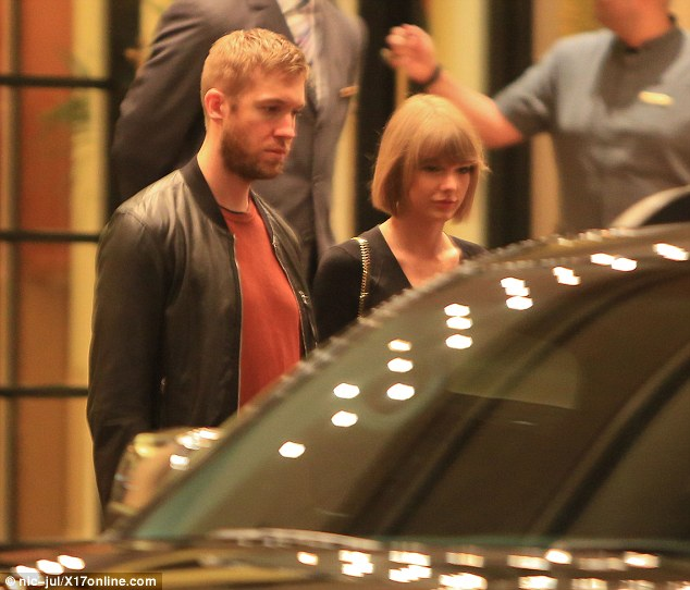Heading home?It had been rumoured at the start of the year that the couple were already living together but a spokesperson for Taylor squashed the reports