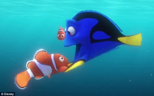 Just keep swimming: A new trailer for Finding Dory premiered on The Ellen DeGeneres Show on Wednesday