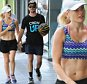 as Bonnie's new raunchy sex scenes are leaked, the couple is seen holding hands out for a walk on Oxford St in Paddington on 2nd March, 2016 in Sydney, Australia. ©PMC IMAGES 2016.