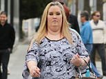 Mama June and Honey Boo Boo film a new TV show in Beverly Hills.....Pictured: Mama June..Ref: SPL1211306  180116  ..Picture by: LA Photo Lab / Splash News....Splash News and Pictures..Los Angeles: 310-821-2666..New York: 212-619-2666..London: 870-934-2666..photodesk@splashnews.com..