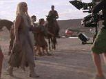 Grabs from Game of Thrones Season 6: Inside GoT teaser
