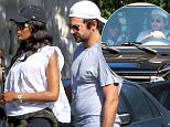 Exclusive... 51981222 Bradley Cooper was seen getting cozy after having breakfast with Naomi Campbell early Saturday morning in West Hollywood, LA on February 27, 2016. The duo was spotted laughing together and giggling as they photographed getting inside Bradley's SUV ***NO WEB USE W/O PRIOR AGREEMENT - CALL FOR PRICING*** FameFlynet, Inc - Beverly Hills, CA, USA - +1 (310) 505-9876 RESTRICTIONS APPLY: NO FRANCE
