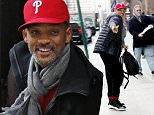 Mandatory Credit: Photo by Startraks Photo/REX/Shutterstock (5608977f)\nWill Smith\n'Collateral Beauty' on set filming, New York, America - 02 Mar 2016\nWill Smith Greets Fans while Filming Collateral Beauty\n