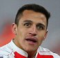 LONDON, ENGLAND - MARCH 02 :  Alexis Sanchez of Arsenal sits on the pitch during the Barclays Premier League match between Arsenal and Swansea City at the Emirates Stadium on March 02, 2016 in London, England.  (Photo by Catherine Ivill - AMA/Getty Images)