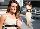 Lea Michele appears on Extra to promote her cosmetic line.\nFeaturing: Lea Michele\nWhere: Los Angeles, California, United States\nWhen: 02 Mar 2016\nCredit: WENN.com