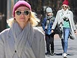 New York, NY - Naomi Watts is spotted on a walk in Tribeca with her son Alexander after school. The actress is back in NYC after spending the weekend in LA for the Oscars. Naomi is wearing skinny jeans and a grey coat paired with white sneakers and a big scarf. Naomi checks her son out of school early as they head out for the day. \n  \nAKM-GSI       March 1, 2016\nTo License These Photos, Please Contact :\nSteve Ginsburg\n(310) 505-8447\n(323) 423-9397\nsteve@akmgsi.com\nsales@akmgsi.com\nor\nMaria Buda\n(917) 242-1505\nmbuda@akmgsi.com\nginsburgspalyinc@gmail.com