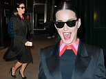 EXCLUSIVE: Katy Perry stops by the Empire State Building and then goes shopping at Jeffrey New York.  Pictured: Katy Perry Ref: SPL1239069  010316   EXCLUSIVE Picture by: North Woods  / Splash News  Splash News and Pictures Los Angeles: 310-821-2666 New York: 212-619-2666 London: 870-934-2666 photodesk@splashnews.com