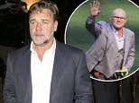 Australia actor Russell Crowe arrives with a beautiful blonde mystery girl at a private Pre Academy Awards party at a Multi-Million dollar Mansion in Beverly Hills, CA\n\nPictured: Russell Crowe\nRef: SPL1236864  270216  \nPicture by: SPW / Splash News\n\nSplash News and Pictures\nLos Angeles: 310-821-2666\nNew York: 212-619-2666\nLondon: 870-934-2666\nphotodesk@splashnews.com\n