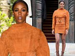 PARIS, FRANCE - MARCH 03:  Kelly Rowland arrives at the Balmain show as part of the Paris Fashion Week Womenswear Fall/Winter 2016/2017 on March 3, 2016 in Paris, France.  (Photo by Pierre Suu/Getty Images)