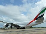 An Emirates Airbus A380 touched down in New Zealand on March 2, 2016, completing what is believed to be the world's longest non-stop scheduled commercial flight, covering 14,200 km ©Ishara S. Kodikara (AFP/File)