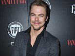 LOS ANGELES, CA - FEBRUARY 23:  TV personality Derek Hough attends Vanity Fair and FIAT Young Hollywood Celebration at Chateau Marmont on February 23, 2016 in Los Angeles, California.  (Photo by Steve Granitz/WireImage)
