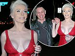 LOS ANGELES, CA - FEBRUARY 14:  Courtney Stodden and Doug Hutchison are seen on February 14, 2016 Los Angeles, CA.  (Photo by JMA/Star Max/GC Images)