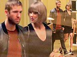 Please contact X17 before any use of these exclusive photos - x17@x17agency.com   Soon engaged? Taylor Swift and Calvin Harris closer than ever at dinner date at Beverly Wilshire hotel tuesday night march 1, 2016 X17online.com