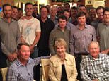 Had a few friends over tonight to talk The Ryder Cup 2016 ???? #teamusa @rydercup