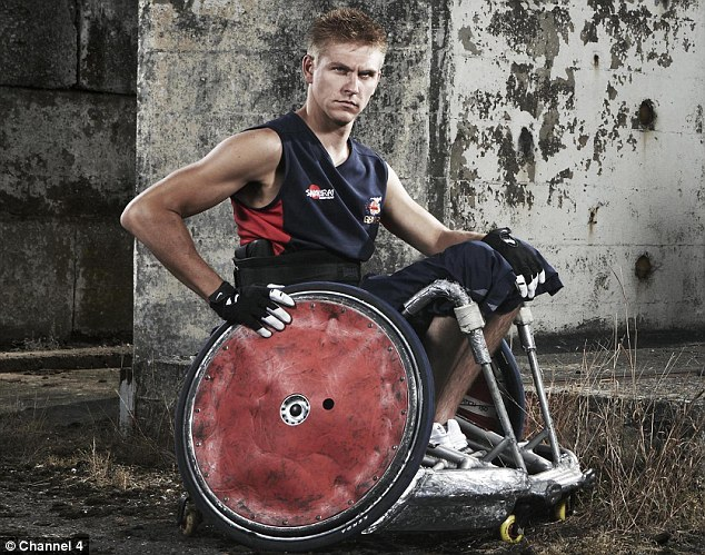 Steve Brown, captain of the wheelchair rugby team became paralysed in 2005 when he fell from a balcony
