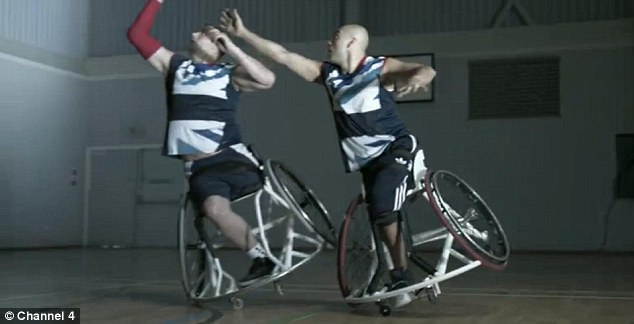 Gaz Choudhry (right) is an amputee from Karachi, Pakistan, who started playing wheelchair basketball when he was 13