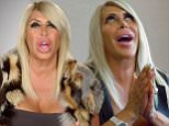 """STATEN ISLAND, NEW YORK ? March 2, 2016:  Mob Wives\nKaren tries to end the feud between Brittany, Carla, and Renee. Big Ang's future hangs in the balance. Drita hears a rumor that may destroy her relationship with Karen.\nChronicles the lives of four struggling """"allegedly"""" associated women who have to pick up the pieces and carry on after their husbands or fathers do time for Mob-related activities. \nPhotograph:�VH1  """"Disclaimer: CM does not claim any Copyright or License in the attached material. Any downloading fees charged by CM are for its services only, and do not, nor are they intended to convey to the user any Copyright or License in the material. By publishing this material, The Daily Mail expressly agrees to indemnify and to hold CM harmless from any claims, demands or causes of action arising out of or connected in any way with user's publication of the material."""""""