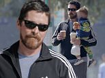 Picture Shows: Christian Bale  March 02, 2016\n \n Actor Christian Bale is spotted taking his son Joseph out for breakfast in Brentwood, Calfiornia. Missing from the father-son outing was Christian's wife Sibi Blazic and their daughter Emmeline. \n \n Exclusive All Rounder\n UK RIGHTS ONLY\n FameFlynet UK � 2016\n Tel : +44 (0)20 3551 5049\n Email : info@fameflynet.uk.com