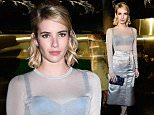 PARIS, FRANCE - MARCH 02: Emma Roberts attends the H&M show as part of the Paris Fashion Week Womenswear Fall/Winter 2016/2017 on March 2, 2016 in Paris, France.  (Photo by Pascal Le Segretain/Getty Images)