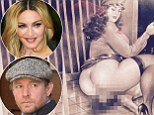 A fat woman sitting on a man?s face, the obscene picture Madonna posted online just hours before London judge orders her and Guy Ritchie to settle differences over where son Rocco lives