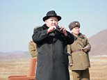 North Korean leader Kim Jong-un inspects a flight drill of fighter pilots from the Korean People's Army's (KPA) Air and Anti-Air Force, in this undated file photo released by North Korea's Korean Central News Agency (KCNA) in Pyongyang on February 21, 2016.   The United States will submit to the U.N. Security Council on February 25, 2016 a draft resolution that would expand sanctions against North Korea over its latest nuclear test, a spokesman for the U.S. mission to the United Nation said.   REUTERS/KCNA ATTENTION EDITORS - THIS PICTURE WAS PROVIDED BY A THIRD PARTY. REUTERS IS UNABLE TO INDEPENDENTLY VERIFY THE AUTHENTICITY, CONTENT, LOCATION OR DATE OF THIS IMAGE. FOR EDITORIAL USE ONLY. NOT FOR SALE FOR MARKETING OR ADVERTISING CAMPAIGNS. THIS PICTURE IS DISTRIBUTED EXACTLY AS RECEIVED BY REUTERS, AS A SERVICE TO CLIENTS. NO THIRD PARTY SALES. SOUTH KOREA OUT. NO COMMERCIAL OR EDITORIAL SALES IN SOUTH KOREA.