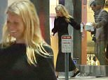 1.March.2016 - Beverly Hills - USA\n***AVAILABLE FOR UK AND GERMANY SALE ONLY ***\n*PREMIUM EXCLUSIVE - MUST CALL FOR PRICING** \n Gwyneth Paltrow celebrated her boyfriend Brad Falchuk's 45th birthday over a romantic dinner at Tempura Endo restaurant in Beverly Hills. The 43-year-old actress went casual in a long sleeved black blouse, green skirt and slip on shoes. Gwyneth's ex-Chris Martin has reportedly not responded to her divorce petition that she filed last April. \nBYLINE MUST READ: AKM-GSI-XPOSURE\n***UK CLIENTS - PICTURES CONTAINING CHILDREN PLEASE PIXELATE FACE PRIOR TO PUBLICATION ***\n*UK CLIENTS MUST CALL PRIOR TO TV OR ONLINE USAGE PLEASE TELEPHONE 0208 344 2007*