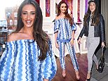 Mandatory Credit: Photo by Nick Harvey/REX/Shutterstock (5608941e) Megan McKenna Maids to Measure cocktail party at Home House, London, Britain - 02 Mar 2016