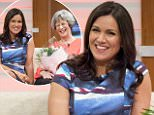 EDITORIAL USE ONLY. NO MERCHANDISING Mandatory Credit: Photo by Ken McKay/ITV/REX/Shutterstock (5605036a) Susanna Reid with her mother Sue Smith 'Good Morning Britain' TV show, London, Britain - 02 Mar 2016 Today Susanna? Reid reveals her health hero, her mum Sue Smith who was a health visitor for 50 years. Not only has she helped hundreds of young mums get to grips with a new baby at home, she also helped Susanna with the boys. And of course, Piers wasn't going to let the chance pass of asking about what Susanna was really like in her younger days!