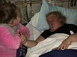 EXCLUSIVE: *PREMIUM EXCLUSIVE RATES APPLY* Mama June has been rushed to hospital after collapsing at her home in Georgia. Honey Boo Boo's mom had been complaining about feeling unwell and was sick several times during the day on Wednesday before passing out after walking down stairs in her house. After regaining consciousness she passed out again several times and was driven to hospital by daughter Pumpkin. June has had a cat scan, doctors have taken blood work and she was kept in hospital overnight on Wednesday.  She has lost 150 pounds in recent months through a diet and exercise.  Pictured: Mama June and Honey Boo Boo Ref: SPL1227961  030316   EXCLUSIVE Picture by: Splash News  Splash News and Pictures Los Angeles: 310-821-2666 New York: 212-619-2666 London: 870-934-2666 photodesk@splashnews.com
