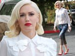 May 3th, 2016: Gwen Stefani heads to the studio looking good. 244/INF