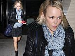 02 Mar 2016 - Beverly Hills, CA - USA\n**STRICTLY AVAILABLE FOR UK AND GERMANY USE ONLY**\n*EXCLUSIVE ALL ROUND PICTURES* \nRachel McAdams leaves Palm Restaurant after a dinner with her sister Kayleen and parents Sandra and Lance. The Canadian actress wore a black leather jacket, a printed scarf, plaid skirt and black boots.\nBYLINE MUST READ : AKM-GSI-XPOSURE\n***UK CLIENTS - PICTURES CONTAINING CHILDREN PLEASE PIXELATE FACE PRIOR TO PUBLICATION ***\n*UK CLIENTS MUST CALL PRIOR TO TV OR ONLINE USAGE PLEASE TELEPHONE 0208 344 2007*\n
