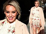 Mandatory Credit: Photo by MediaPunch/REX/Shutterstock (5609304b)\nHilary Duff\nHilary Duff out and about in New York, America - 03 Mar 2016\n