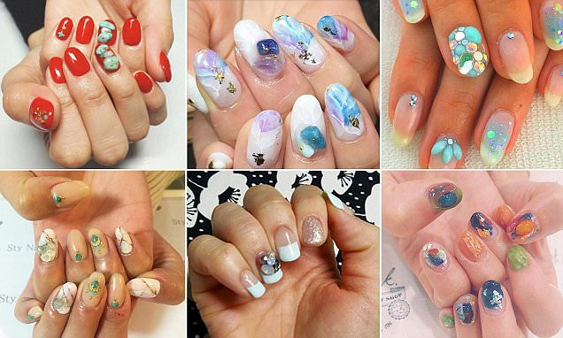 Stone nails is the latest manicure trend to sweep social media